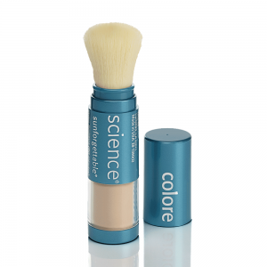 SUNFORGETTABLE® MINERAL SUNSCREEN BRUSH SPF 30 – Protezione solare in polvere minerale con pennello SPF 30 - www.AntiAgeBoutique