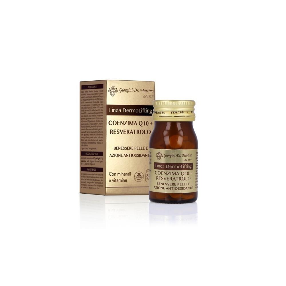 COENZIMA Q10 + RESVERATROLO 30 pastiglie - www.AntiAgeBoutique.com