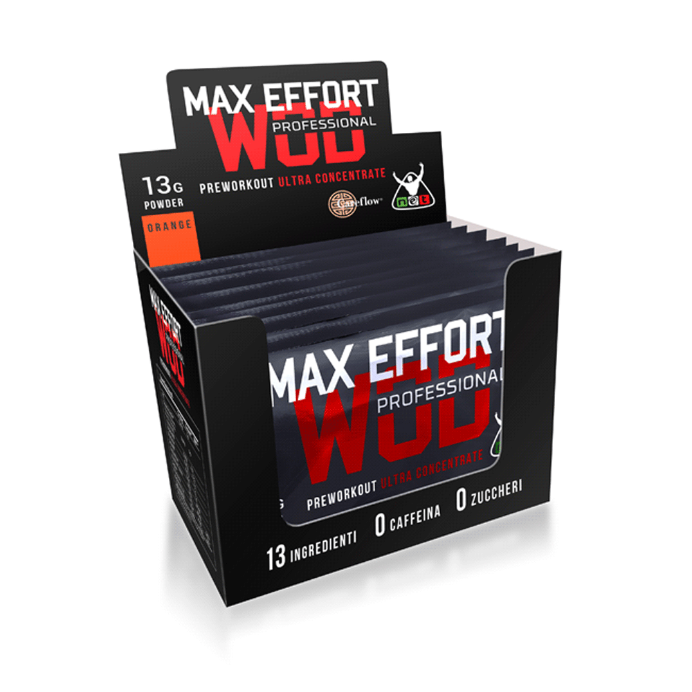 MAX EFFORT PROFESSIONAL (box 10 bustine) Aminoacidi Crossfit - www.AntiAgeBoutique.com