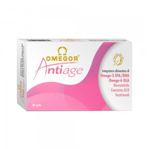 OMEGOR ANTIAGE (30perle) Integratori antiossidanti - www.AntiAgeBoutique.com