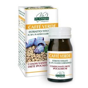 Monocomponenti Erbe Caffè Verde Estratto Titolato al 50% in acido clorogenico Pastiglie