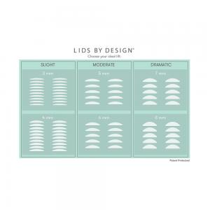 Contours Rx 80 strisce correttive effetto lifting palpebre - Lids by design Kit misure varie - AntiAgeBoutique.com