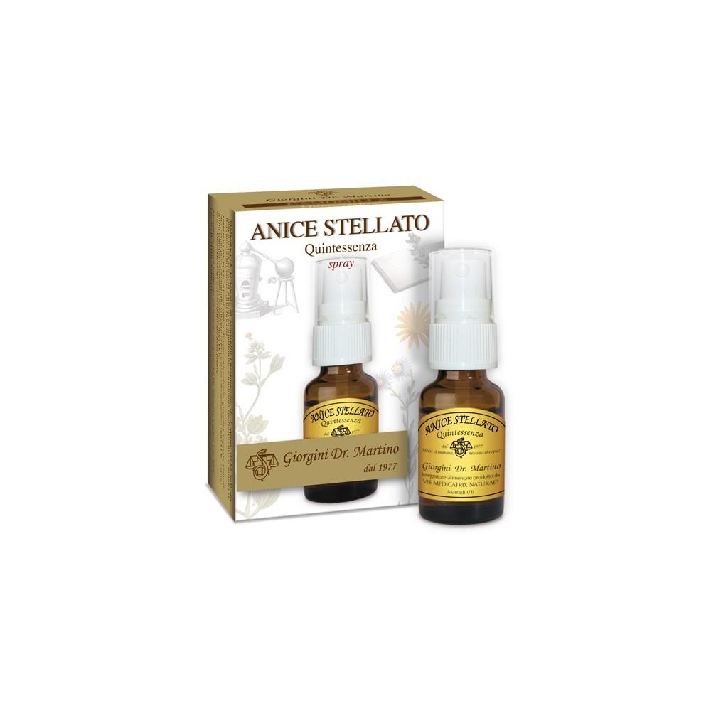 Anice Stellato Quintessenza Liquido alcoolico spray - www.AntiAgeBoutique.com