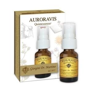 Auroravis Quintessenza Liquido alcoolico spray - www.AntiAgeBoutique.com