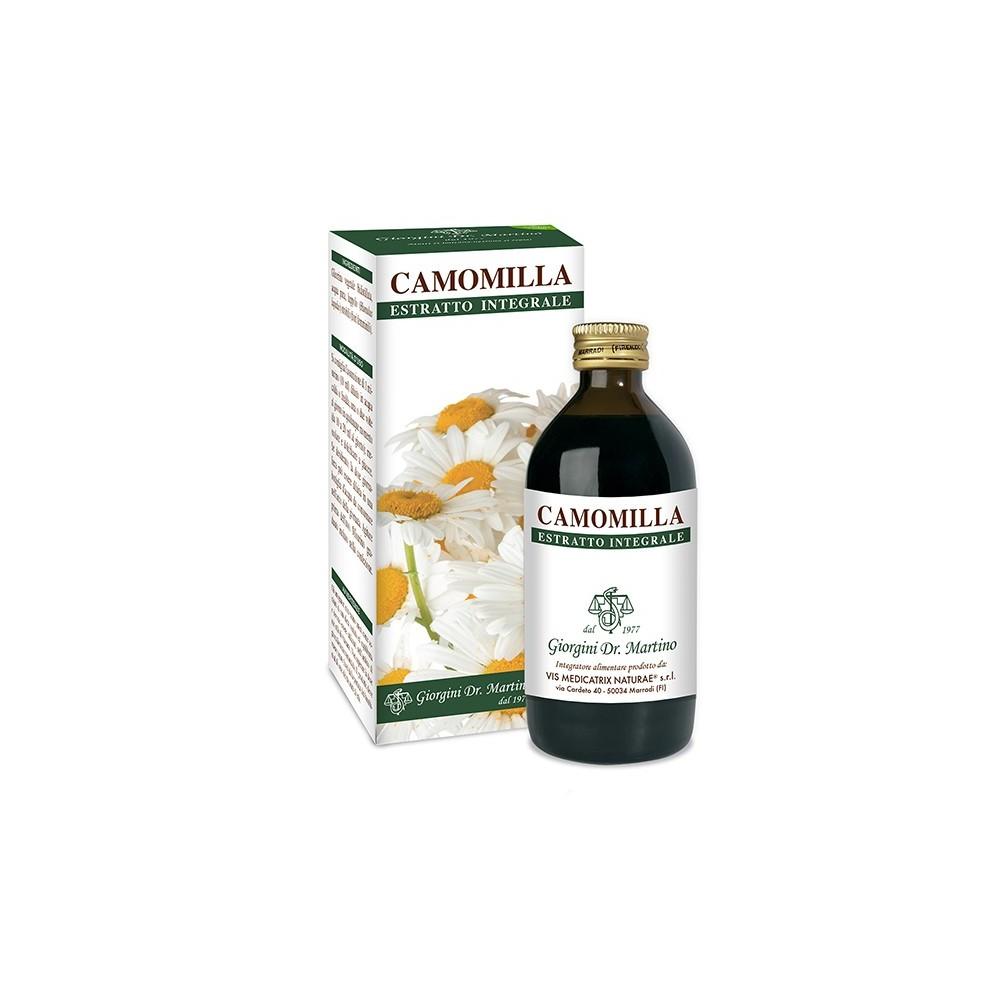 Camomilla Estratto Integrale Liquido analcoolico - www.AntiAgeBoutique.com