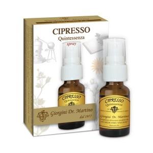 Cipresso Quintessenza Liquido alcoolico spray - www.AntiAgeBoutique.com