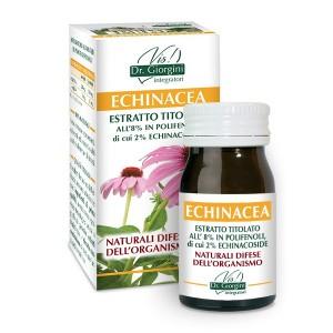 Monocomponenti Erbe Echinacea Estratto Titolato all'8% in polifenoli, di cui 2% echinacoside Pastiglie - www.AntiAgeBoutique.com