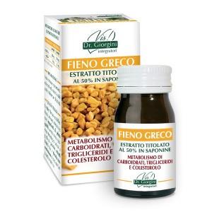 Monocomponenti Erbe Fieno Greco Estratto Titolato al 50% in saponine Pastiglie - www.AntiAgeBoutique.com