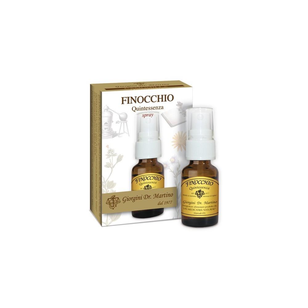 Finocchio Quintessenza Liquido alcoolico spray - www.AntiAgeBoutique.com