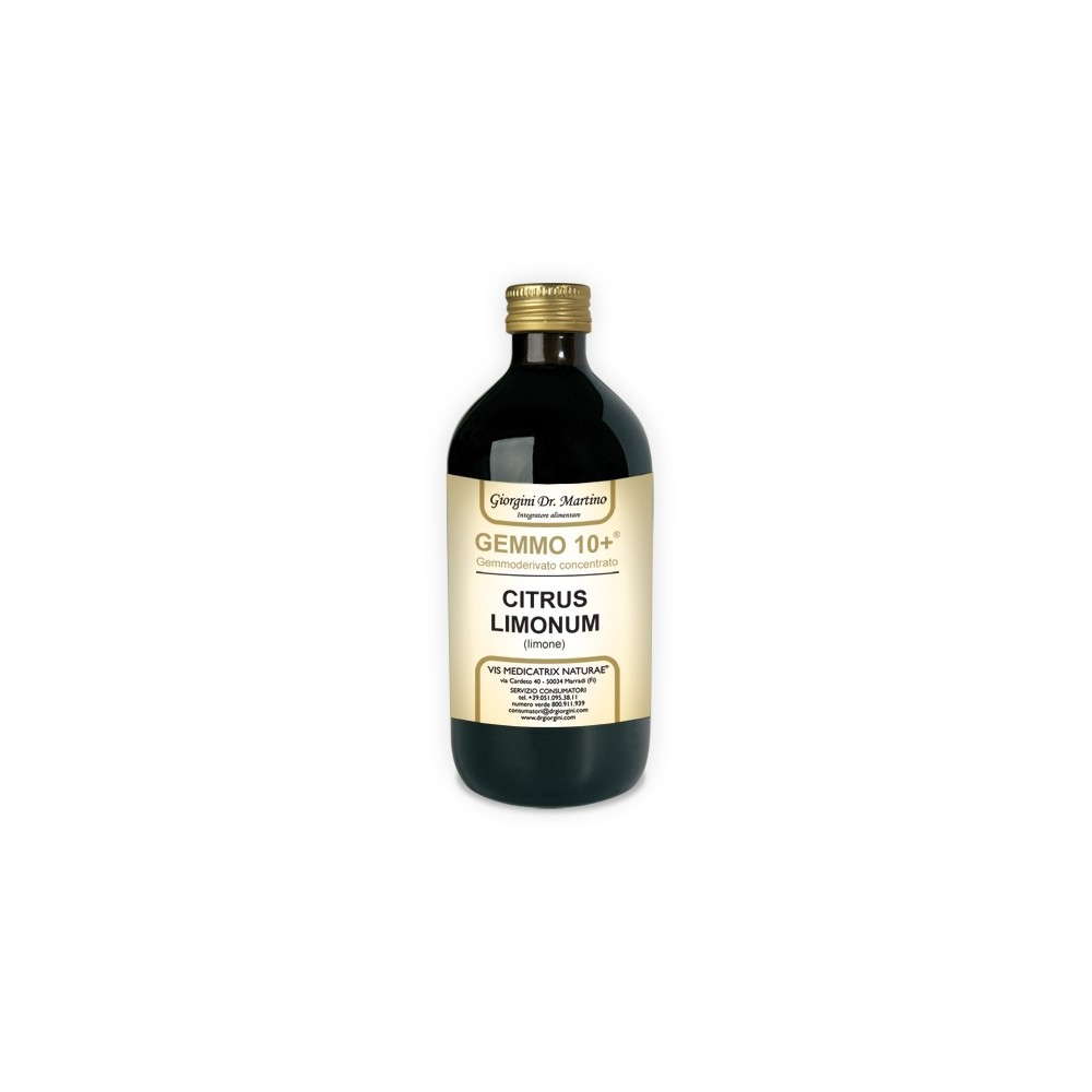 Limone Gemmoderivato Concentrato Liquido analcoolico - www.AntiAgeBoutique.com