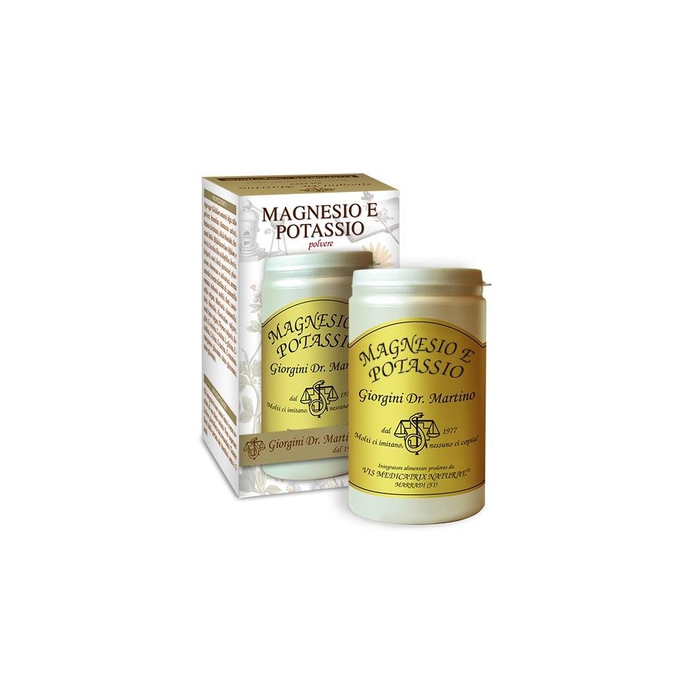 Magnesio e Potassio Polvere - www.AntiAgeBoutique.com
