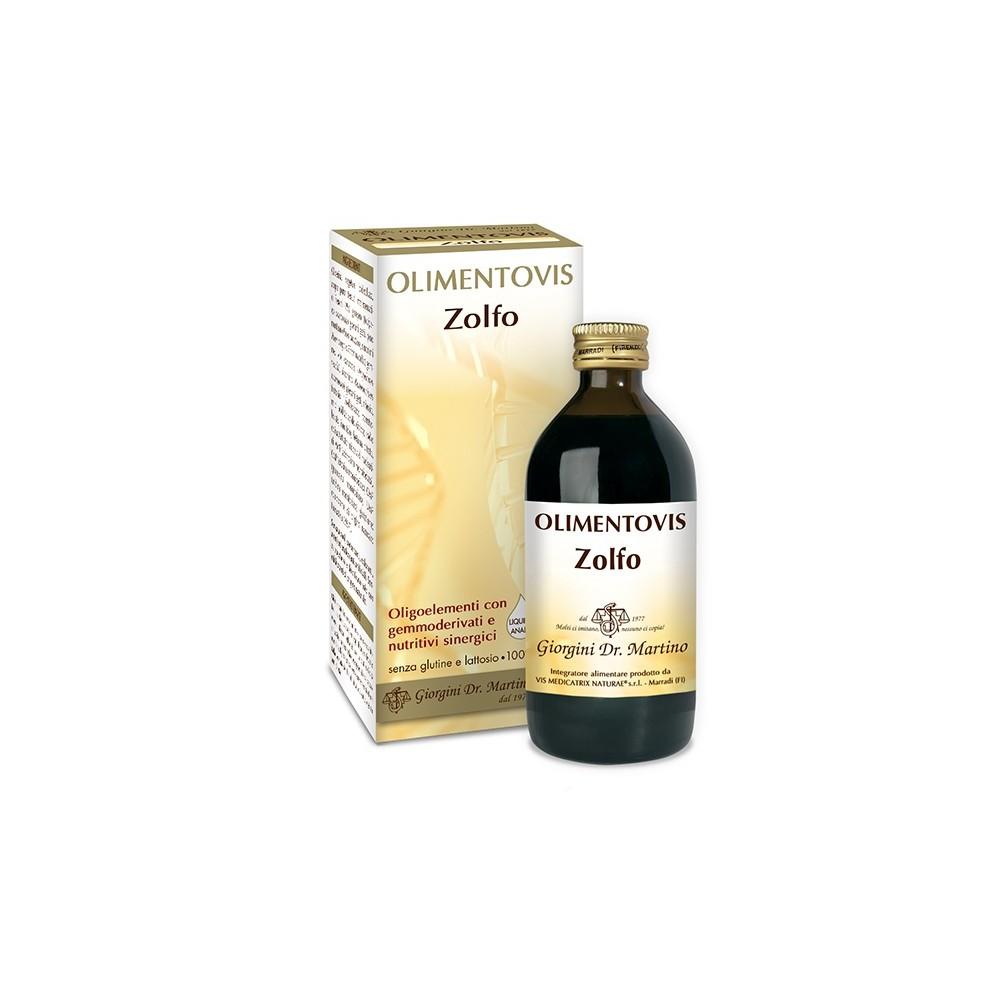 Zolfo Olimentovis Liquido analcoolico - www.AntiAgeBoutique.com
