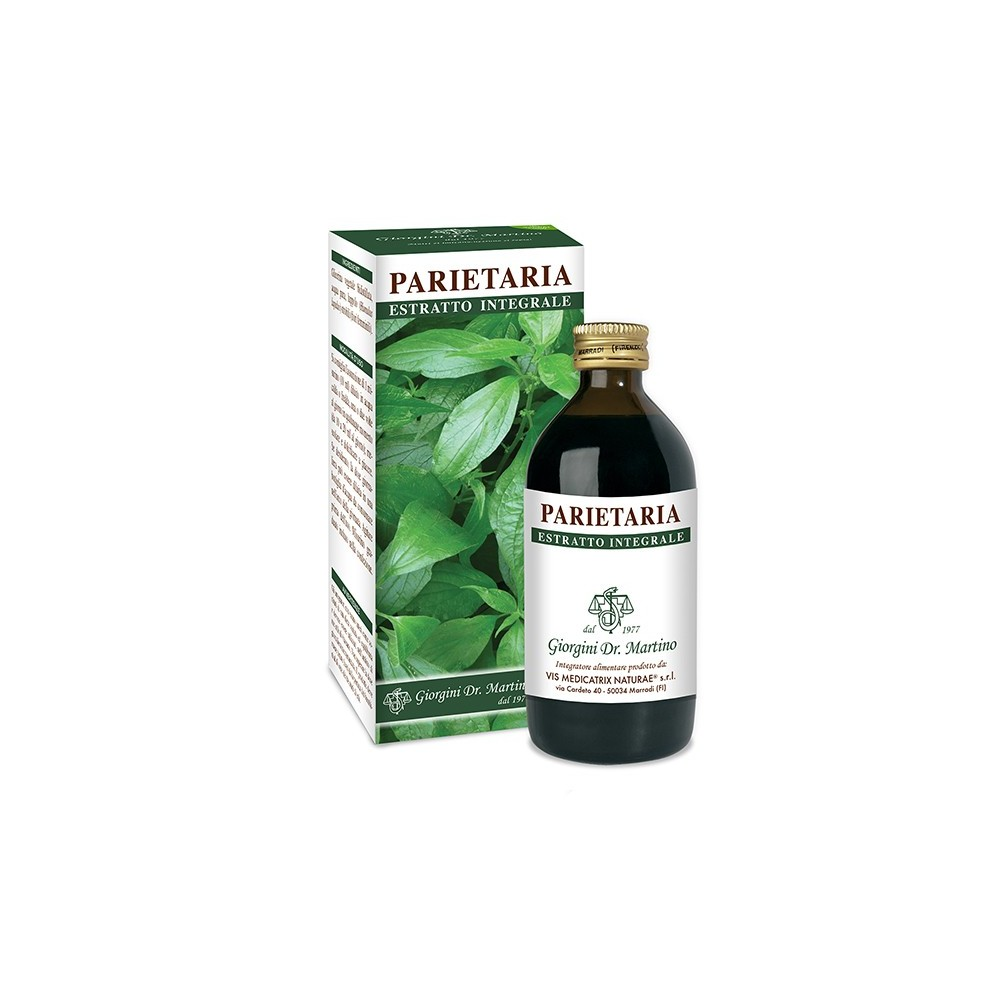 Parietaria Estratto Integrale Liquido analcoolico - www.AntiAgeBoutique.com