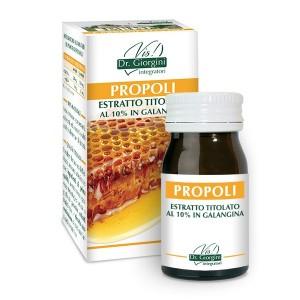 Monocomponenti Erbe Propoli Estratto Titolato al 10% in galangina Pastiglie - www.AntiAgeBoutique.com