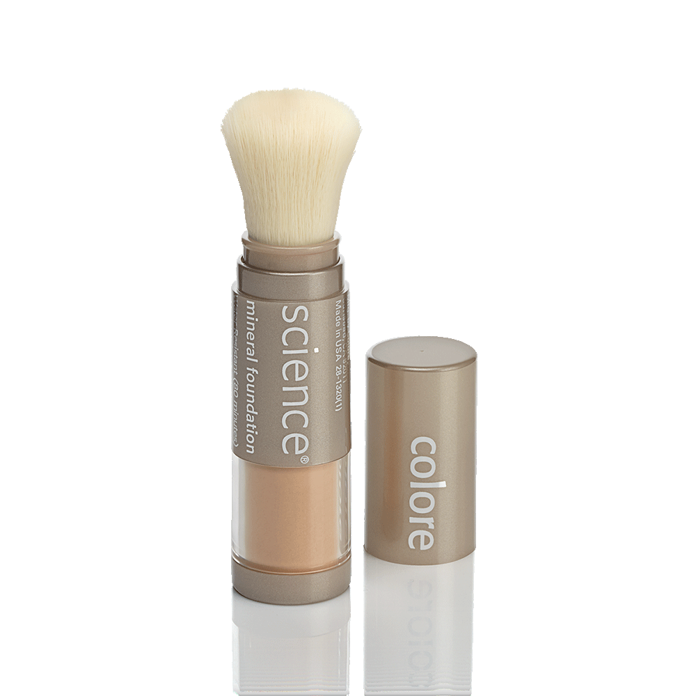 LOOSE MINERAL FOUNDATION BRUSH SPF 20 – Fondotinta in polvere minerale con pennello SPF 20 - www.AntiAgeBoutique.com